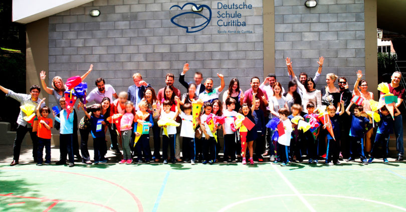 DSC Curitiba - O primeiro dia na escola e os cones