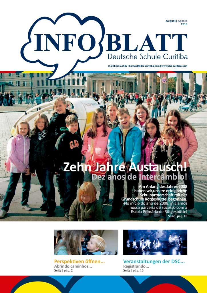 Infoblatt edição Agosto 2018
