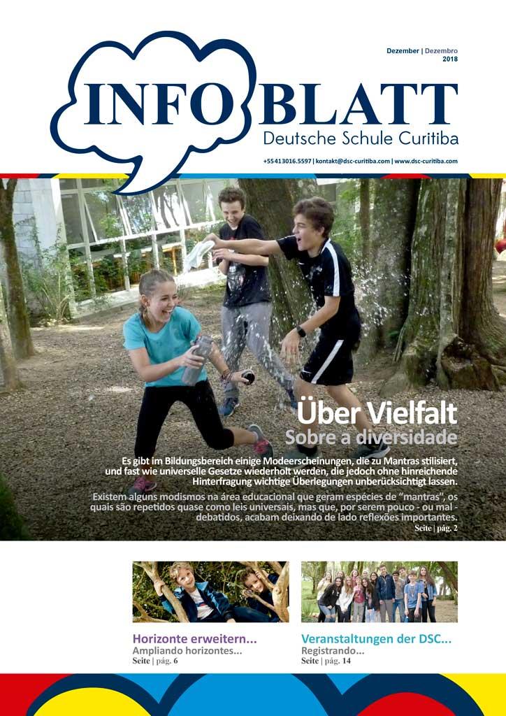 Infoblatt edição Dezembro 2018
