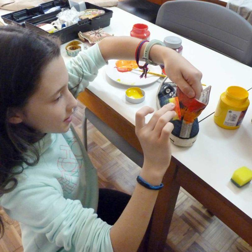 Customização - Semana do que não se aprende na escola | Projektwoche