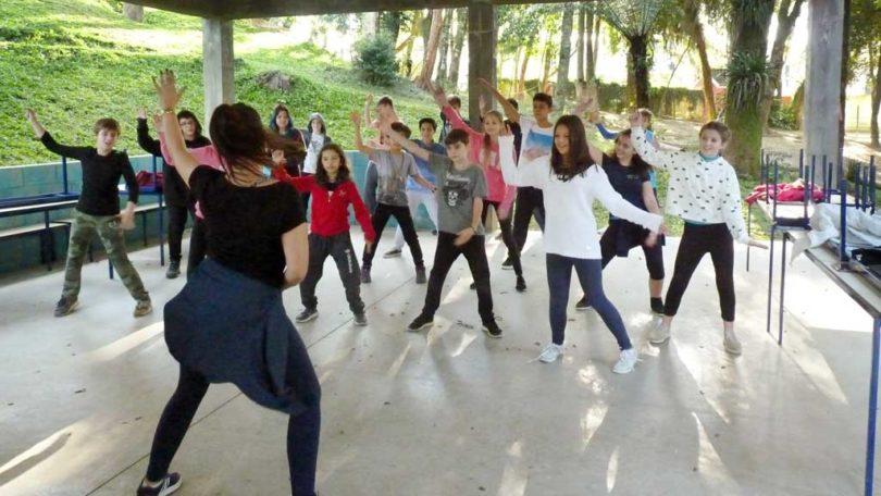 Fit Dance EF II - Semana do que não se aprende na escola | Projektwoche