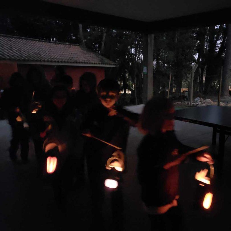 Passeio das Lanternas EF I * Lanternelaufen mit der Grundschule