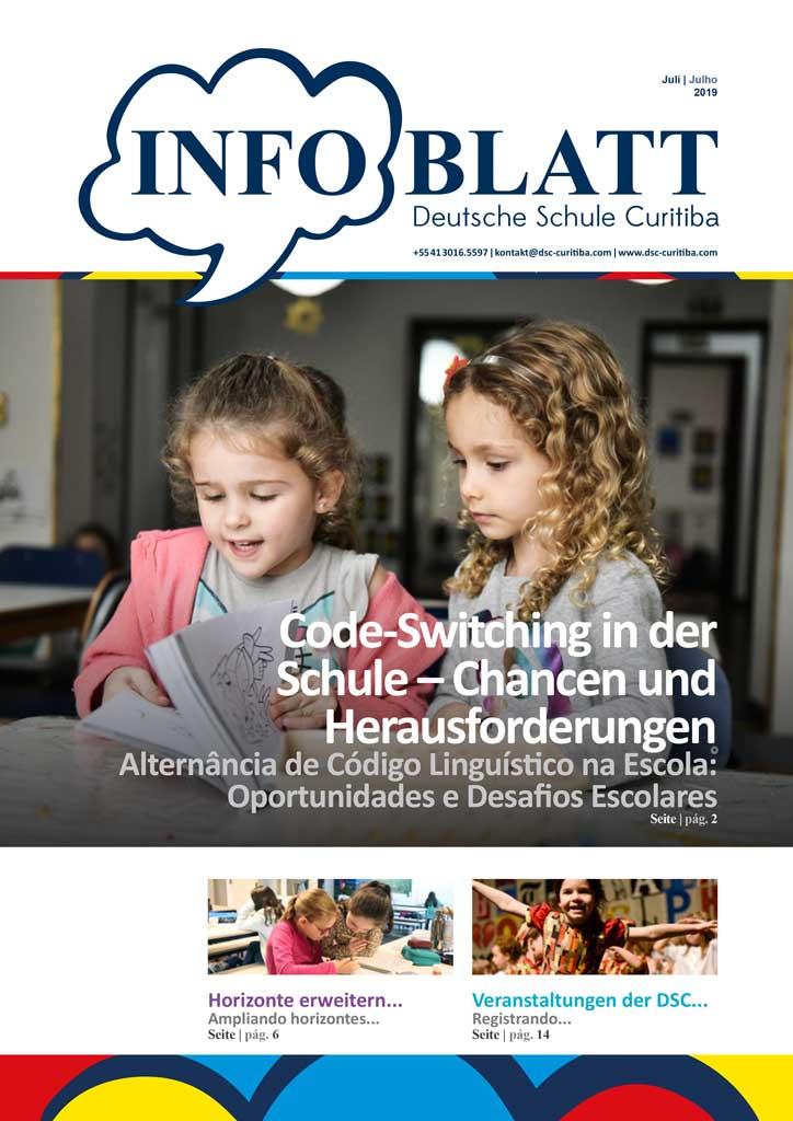 Infoblatt edição Julho 2019