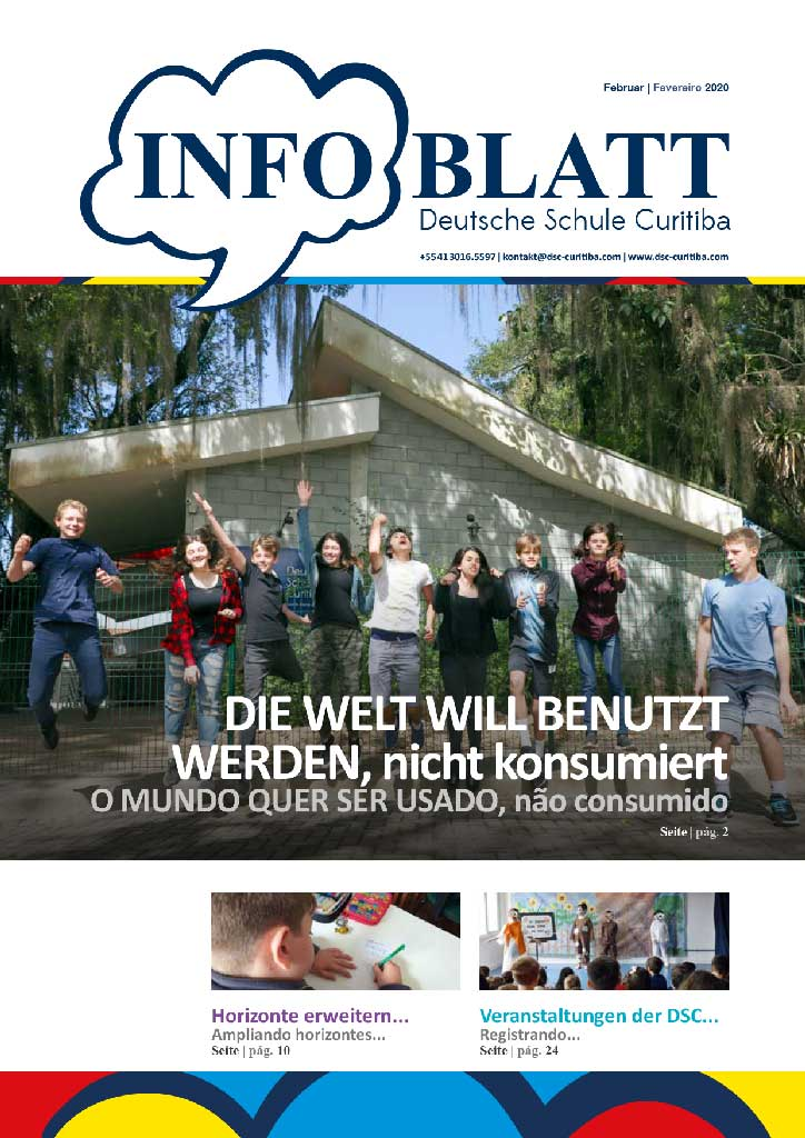 Infoblatt edição Fevereiro 2020