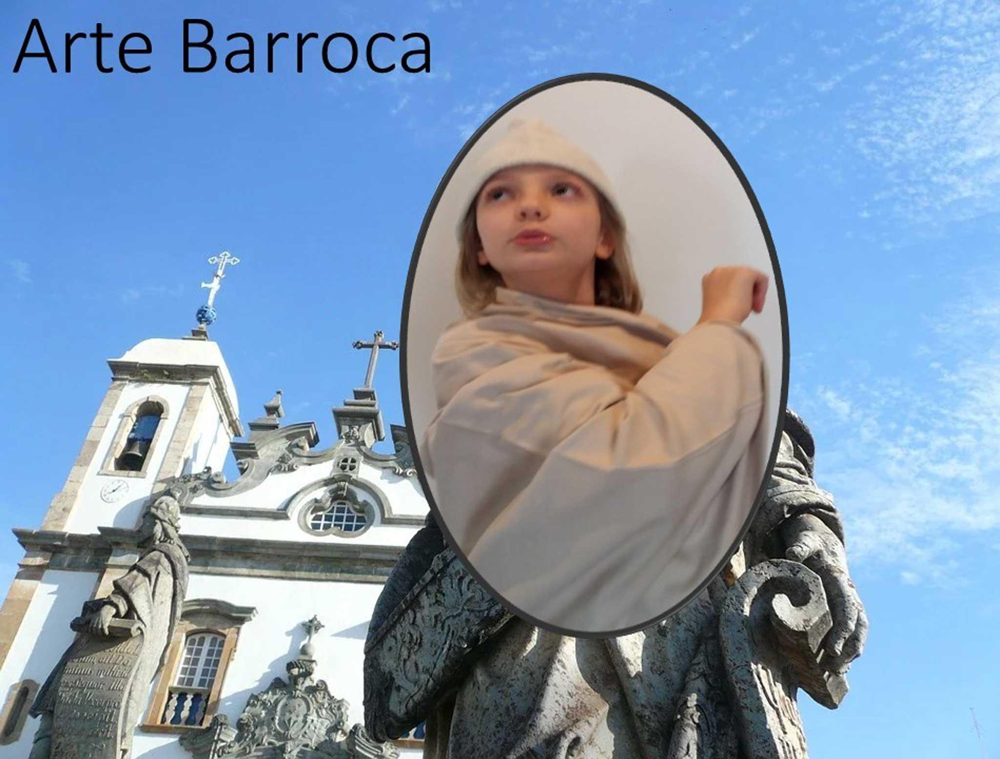 Arte Barroca no Brasil - 4o. ano / Barocke Kunst in Brasilien - 4. Klasse